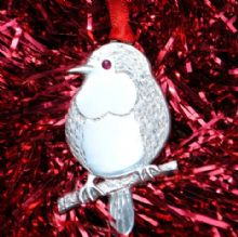 Xmas tree decoration Robin XD2